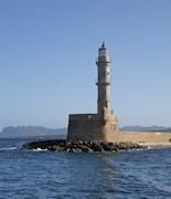 Harbor in Crete