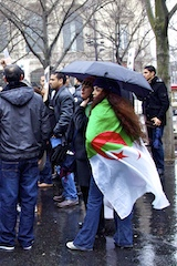 Libyan Protest in Paris 3