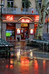 Cafe in Avignon