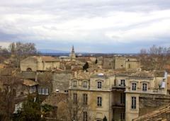Avignon overlook