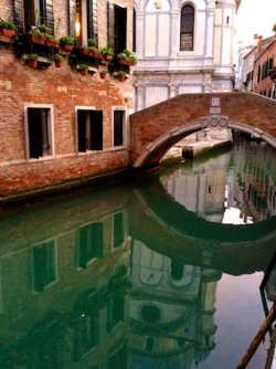 Miracoli reflection in canal