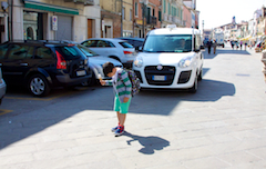 Patient taxi on Chioggia
