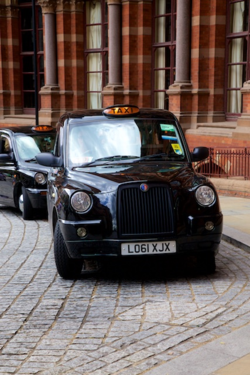 Ubiquitous Black Cab in London