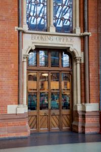 Interior Door, St Pancras to Hotel