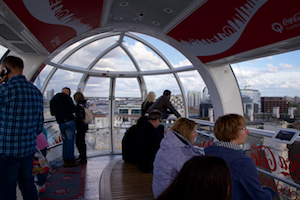 London Eye Inside