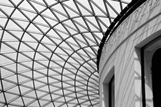 British Museum in B & W copy