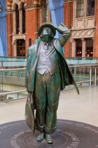 Funny Man at St Pancras