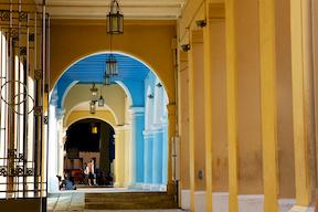 Corridor in Havana
