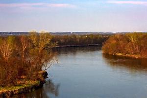 Des Moines River Scene8x12acctedgN 11
